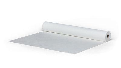 Rieselschutzvlies als Unterlage für EcoPearls® auf eine Holzboden