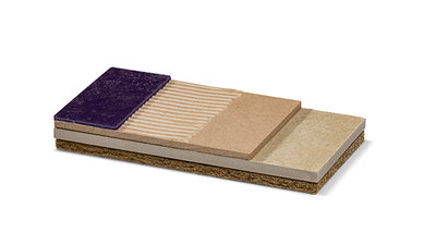 Trockenes Unterbodensystem mit perfekter Ausgleichsfähigkeit. Renovierungssystem speziell für Böden auf Holz-Balken-Konstruktionen.