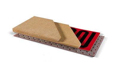 Für traditionelle Fußbodenheizung und -kühlung und Trittschalldämmung